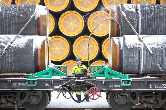 СМИ: оператор «Северного потока-2» заявил о неопределенности с возобновлением строительства газопровода