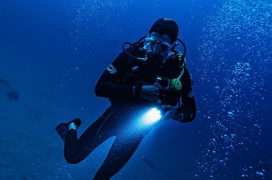 В Севастополе открыли новый подводный археологический памятник