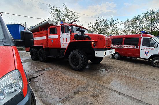 Пожарные машины могут освободить от получения спецразрешений
