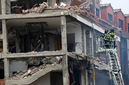 В центре Мадрида прогремел взрыв
