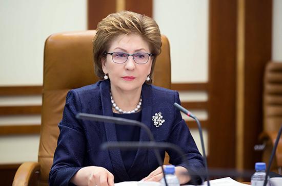 Карелова призвала ускорить процесс модернизации инфекционной службы