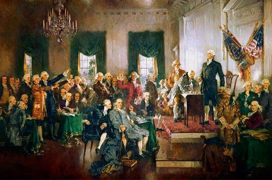 Конституция США и Билль о правах