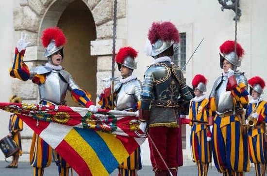 Кто охраняет Ватикан