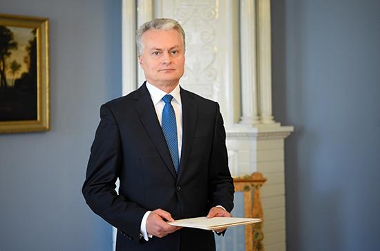 Президент Литвы: экс-главе МИДа необходимо «политическое охлаждение»