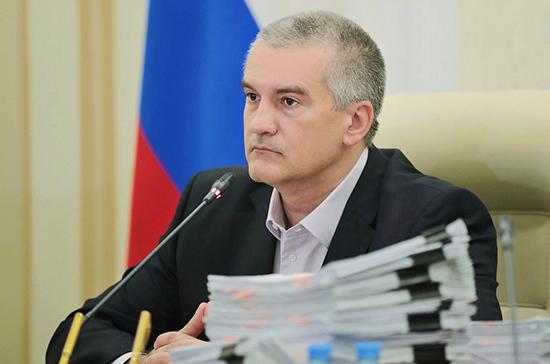Глава Крыма привился от коронавируса
