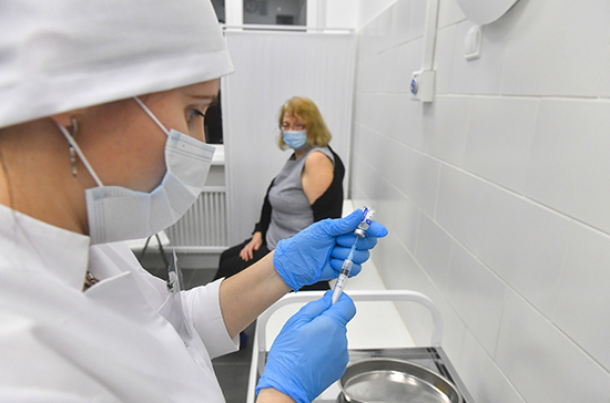 В Подмосковье увеличили число мест для вакцинации от COVID-19
