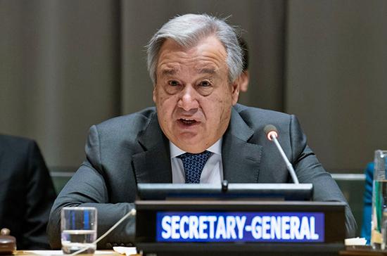 В ООН предрекли миру распад на две части