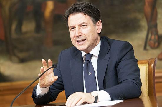 СМИ: председатель совета министров Италии Джузеппе Конте намерен подать в отставку
