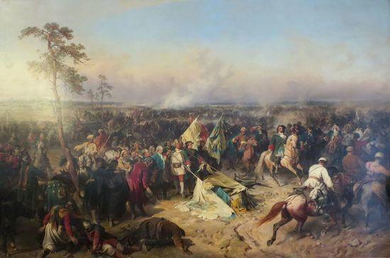 Полтавское сражение определило исход Северной войны