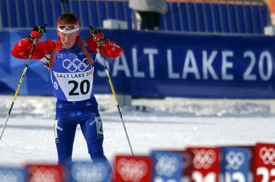 Российские биатлонисты выступят на чемпионате мира под флагом СБР
