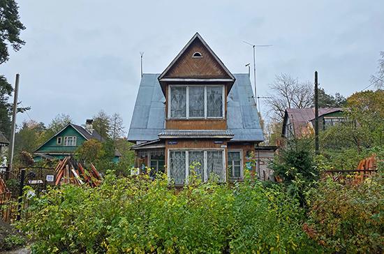 Петербуржцам могут разрешить тратить маткапитал на реконструкцию дачи