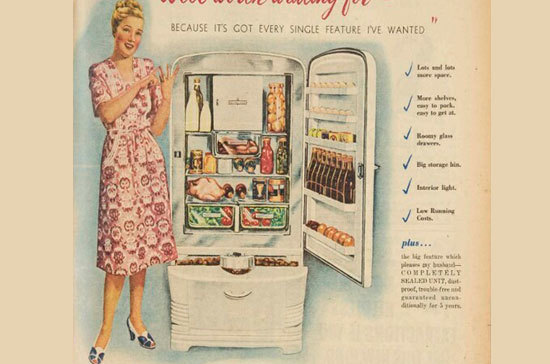 Когда появился первый холодильник