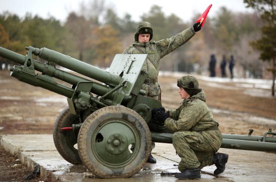На Мамаевом кургане прозвучал выстрел памяти в честь победы в Сталинградской битве