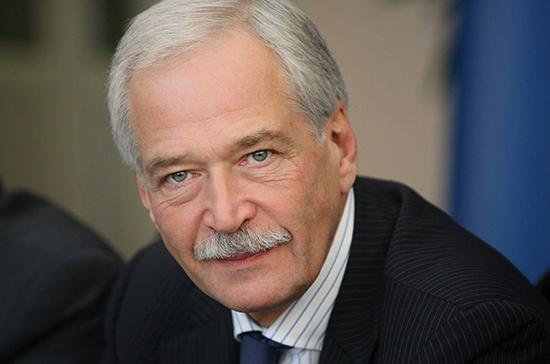Грызлов: проект закона Украины о Донбассе грубо нарушает Минские соглашения