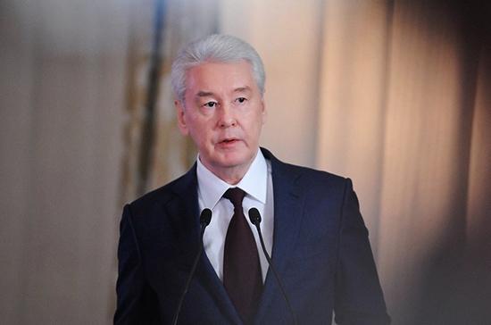 Собянин: при ослаблении ограничений в Москве оценивали фактор психологической усталости