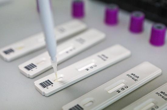 В России разработают тесты для более быстрого мониторинга коронавируса
