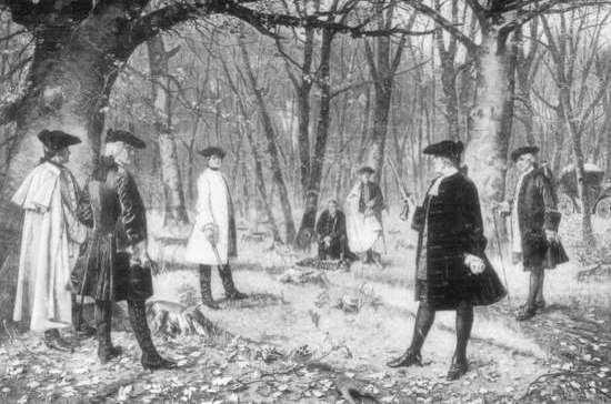 395 лет назад во Франции запретили дуэли