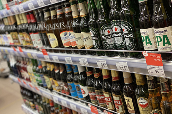 Минфин обсуждает введение минимальной цены на пиво