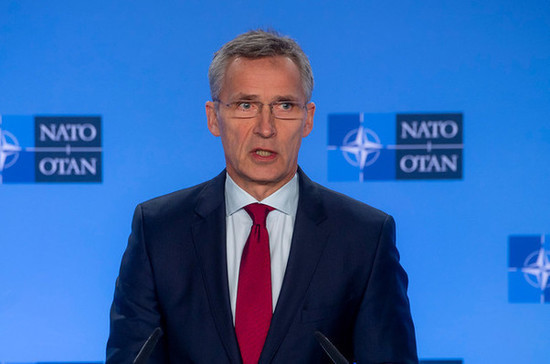Столтенберг объяснил усиление присутствия НАТО в Черном море