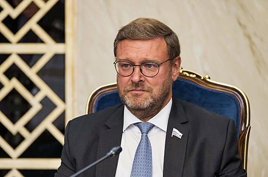 Косачев обвинил Киев и Брюссель в попытке разрушить отношения России и Евросоюза