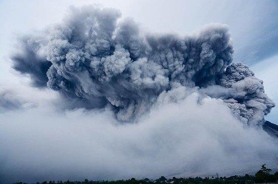 На Курилах проснулся вулкан Пик Сарычева