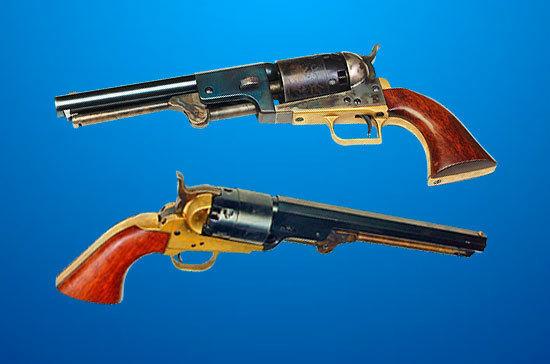 Кто изобрел кольт: история знаменитого револьвера