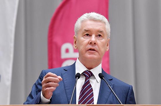 Собянин допустил скорое возобновление в Москве массовых мероприятий
