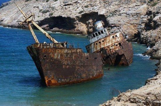 Правительство утвердило план по очистке акваторий ДФО от затонувших судов