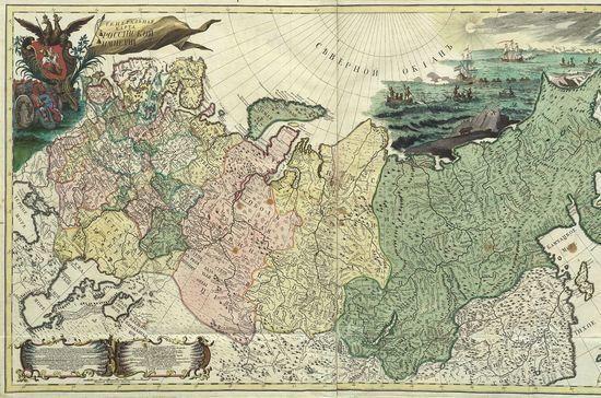 Вся Россия на девятнадцати картах