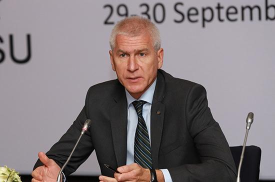 Министр спорта назвал антидопинговое образование одним из самых важных направлений в отрасли