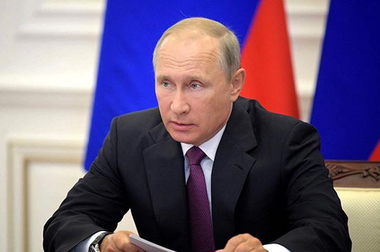 Путин поручил довести до конца вопрос защиты минимального дохода должника