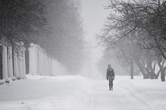 Синоптики прогнозируют аномальный холод на большей части России