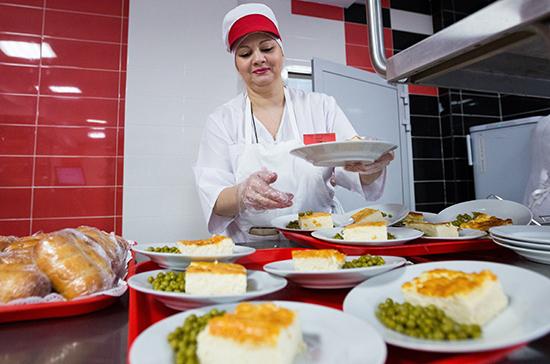 В Минпросвещения оценили ситуацию с горячим питанием в российских школах