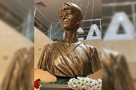 В Москве открыли памятник Доктору Лизе