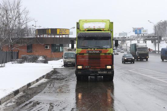 В Москве продлили запрет проезда для транзитных грузовиков тяжелее 12 тонн