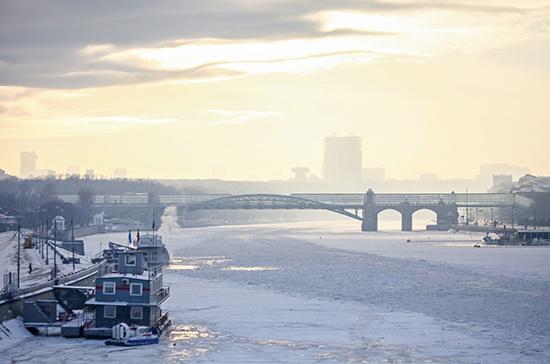 Минувшая ночь в Москве стала самой морозной с начала зимы