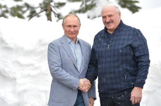 В Кремле сообщили, что встреча Путина и Лукашенко прошла конструктивно