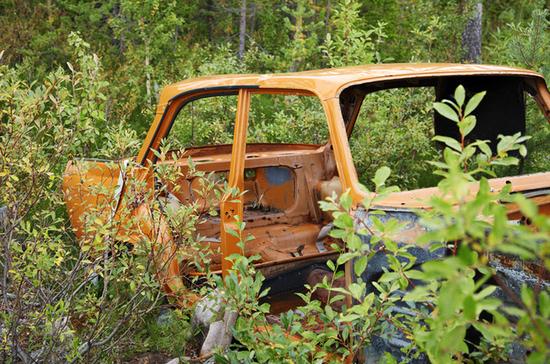 Забытый фургон продадут через аукцион