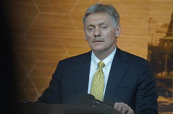 Песков: в Кремле не обсуждали перенос выборов в Госдуму