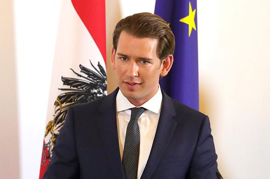 Курц оценил ситуацию с COVID-19 в Австрии