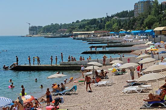 Пляжный сезон в Крыму планируют начать 1 июня