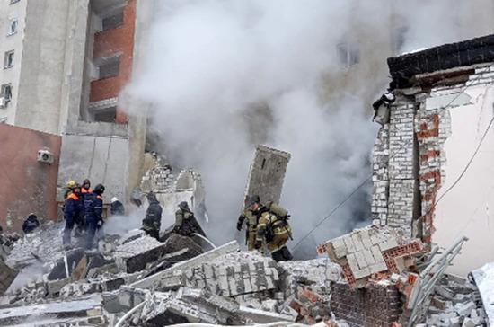 В жилом доме в Нижнем Новгороде произошел взрыв