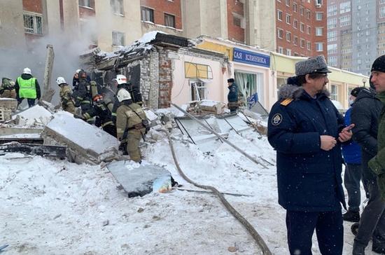 Специалисты Ростехнадзора назвали возможную причину взрыва в доме в Нижнем Новгороде