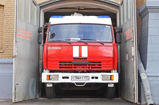 В Москве из-за пожара перекрыли движение на Пятницкой улице