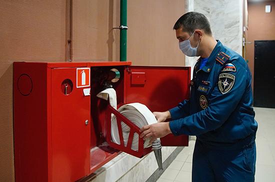 Совфеду рекомендовали одобрить закон о временном закрытии ТЦ за нарушение правил пожарной безопасности