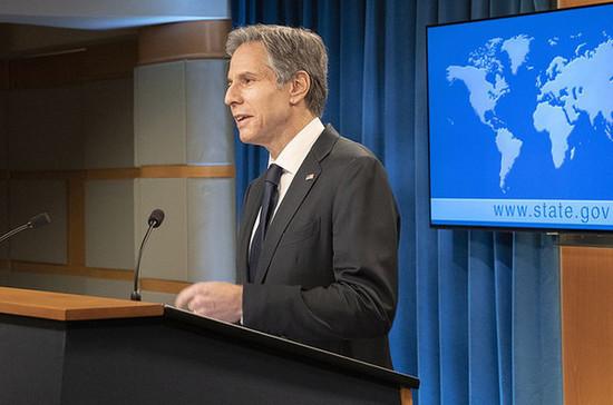Блинкен назвал отношения с КНР главным геополитическим вызовом США в XXI веке