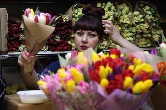 8 Марта дефицита цветов не будет