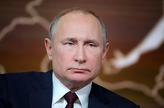 Путин поручил усовершенствовать нормы оборота товаров с газом