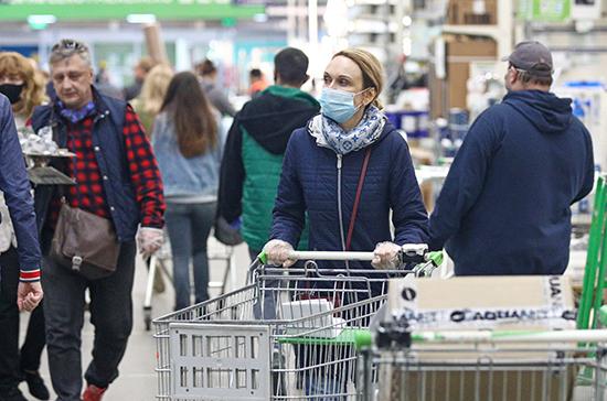 В Минпромторге назвали стабильной ситуацию с ценами на товары по группе мониторинга