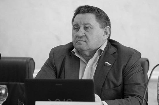 Глава Тюменской области выразил соболезнования в связи со смертью сенатора Пономарёва